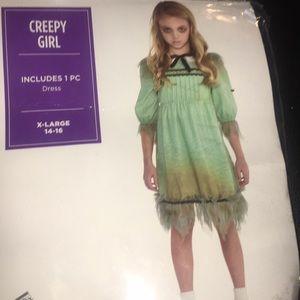 Creepy girl costume